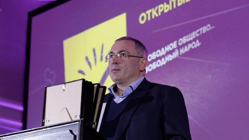 Mihhail Hodorkovski Tallinnas: sõltumatut ajakirjandust jääb Venemaal üha vähemaks ja vähemaks