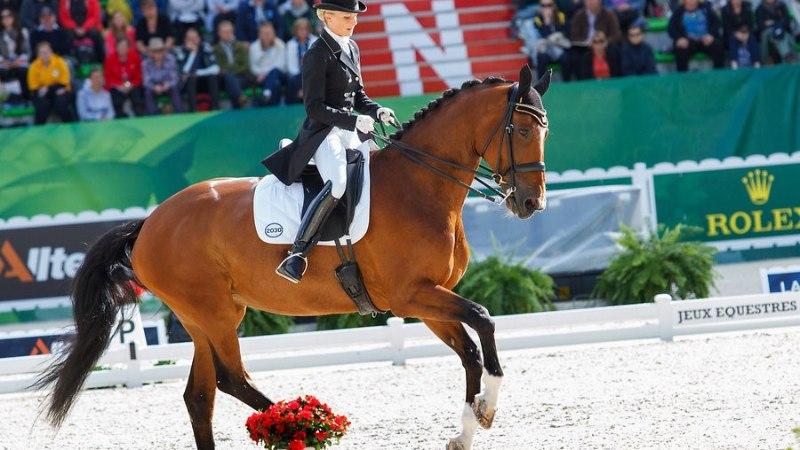 Äsja emaks saanud ratsutaja tegi olümpiale pääsemiseks hiiglasliku hüppe