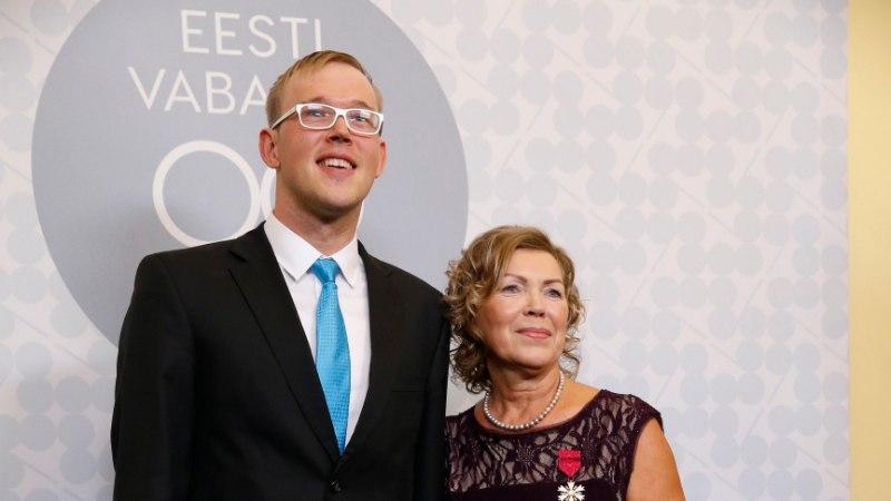 KAUNIS GALERII   Eesti sportlased särasid presidendi vastuvõtul