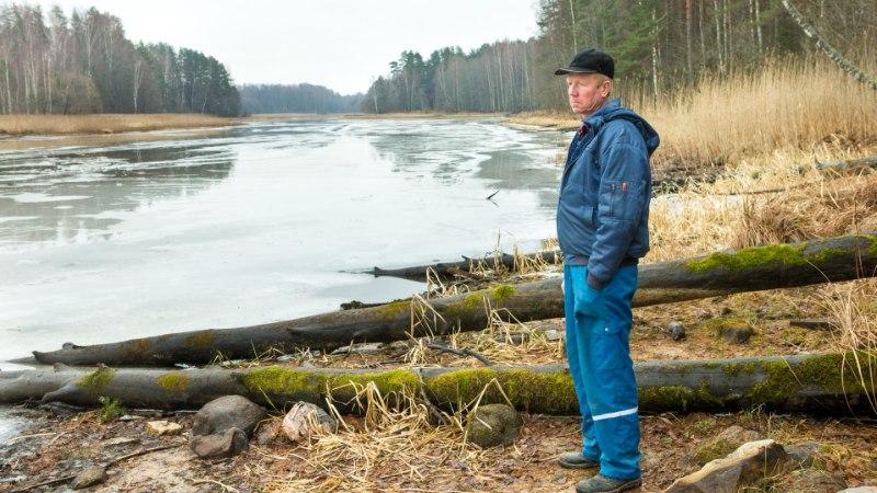 Uppunud kalamehe sõber: järvejääle minnes unustad ohud. See on nagu kirg, nagu haigus!