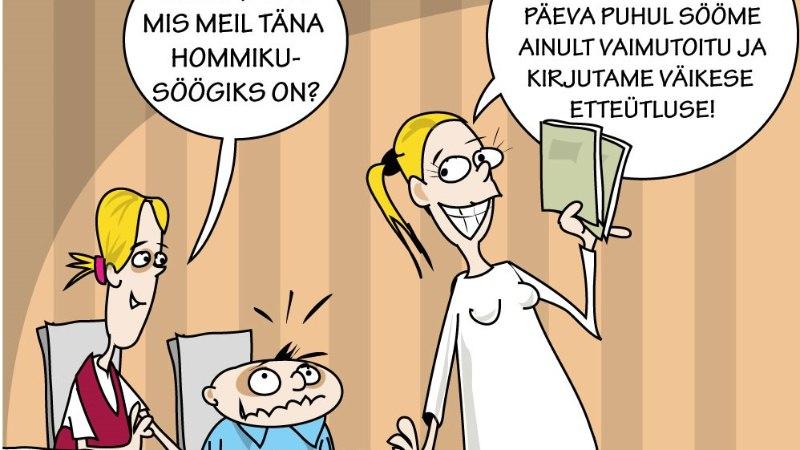 Karikatuur   Meie kallis emakeel