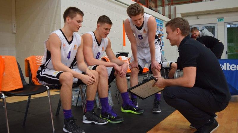 Pärnu Sadama kossutiimi näitel arenevad noored mängijad meeste keskkonnas kiiresti