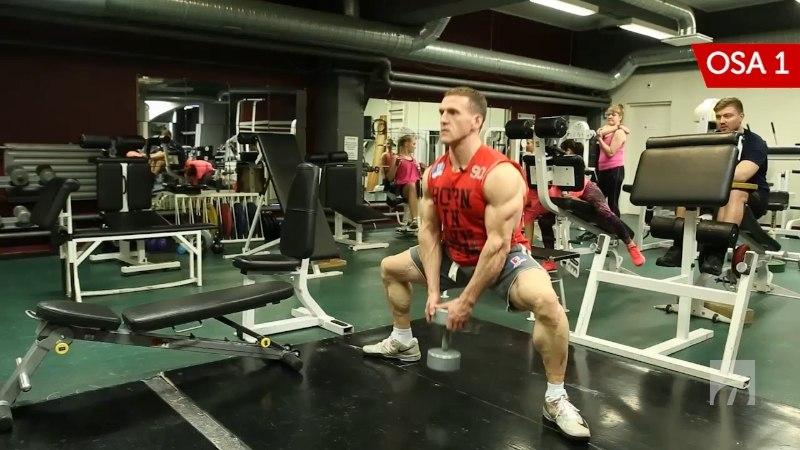 OTT KIIVIKA TRENNIKOOL | 1. osa: laia haardega kükk – paralleeltasapinda jalalihastele