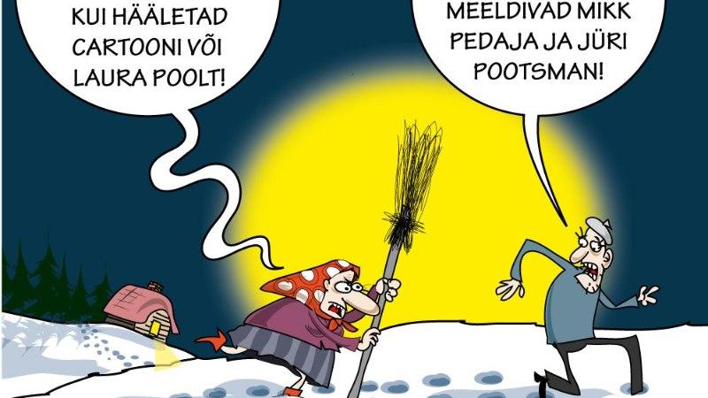 Karikatuur   Eesti laulu rahvahääletus
