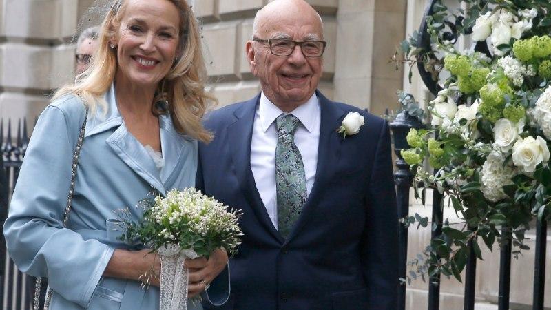 Mick Jaggeri eksnaine abiellus meediamagnaat Murdochiga