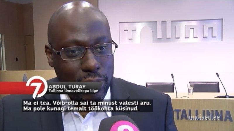 TV3 VIDEO | Väidetavalt küsis Abdul Turay, kas ta saaks kuhugi ministeeriumisse tööle