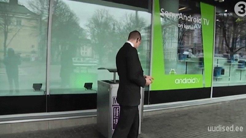 TV3 VIDEO | Reporter Katrin Lustil ei lubatud Solarise keskuse ees filmida. See luba on vaid ERR-il ja TTV-l