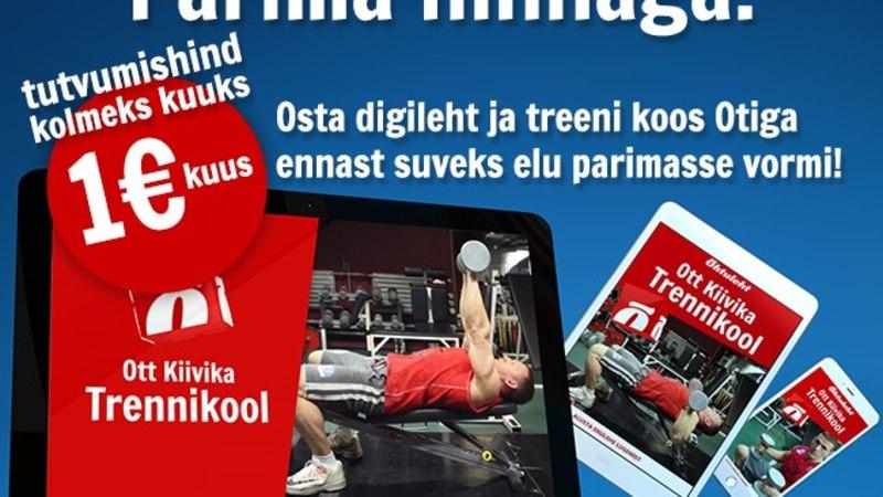 ÕHTULEHEGA RIKKAKS JA ILUSAKS: digilehest võib nüüd leida kaks uut püsirubriiki – Jaak Roosaare Rahakool ja Ott Kiivika Trennikool!