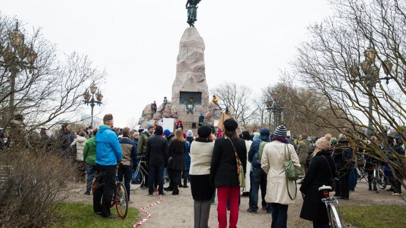 GALERII | Tallinnas avaldasid inimesed meelt avatuma linnaruumi eest