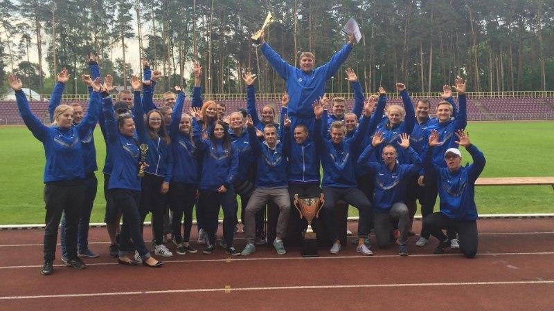 Eesti heitealade koondis võitis Balti maavõistluse