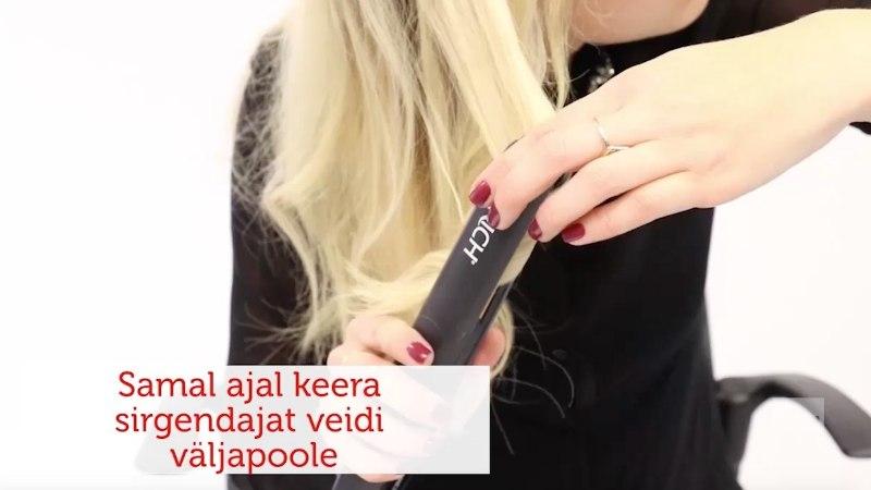 ILUKOOL | Kuidas teha juuksesirgendajaga lokke?