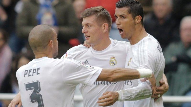 Millise Meistrite liiga rekordi ainuvaldaja on Madridi Real, millise Manchester United?