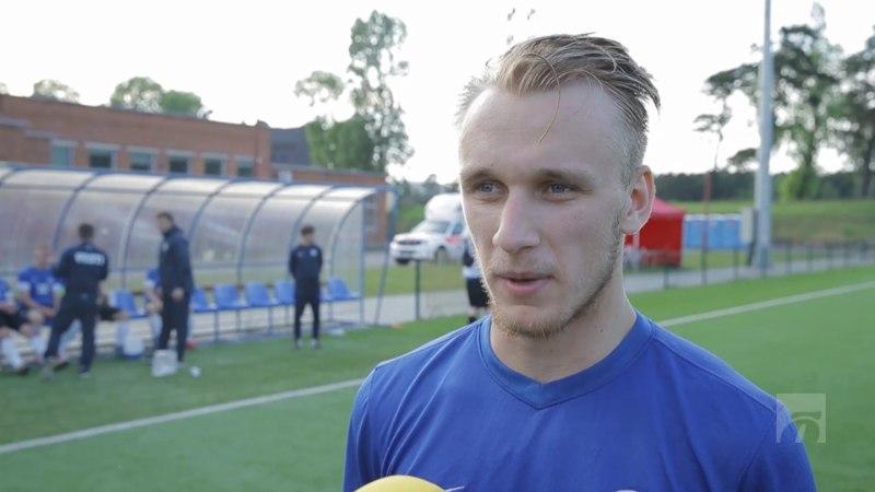 ÕHTULEHE VIDEO | Viigivärava autor Mark Oliver Roosnupp: oleksime pidanud Leedut võitma