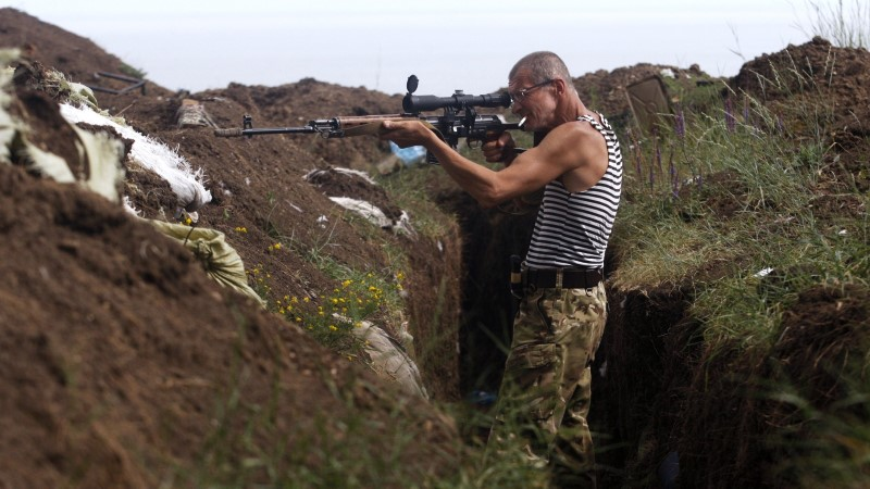 Donbassis langes öösel viis Ukraina sõdurit