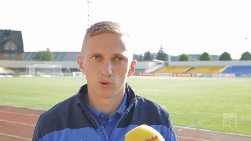 ÕHTULEHE VIDEO   Debütant Pavel Marin: eriline tunne, kui laulad Eesti hümni ja lähed riigi eest võitlema