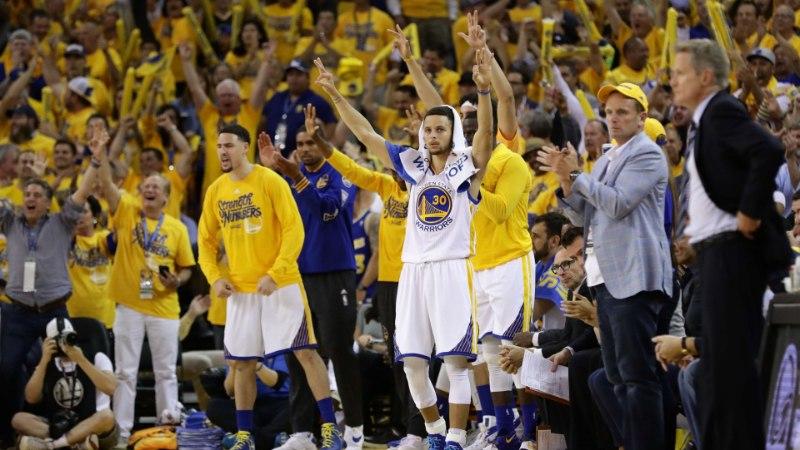 Warriorsi ja Thunderi seitsmenda mängu pileteid ostetakse ulmeliste hindadega