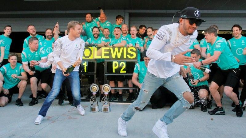 Mercedes: meil pole aimugi, kuidas Hamilton Sotšis finišisse jõudis!