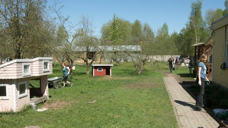 GALERII | Tartu talgulised rassisid kodutute loomade varjupaigas, kultuurihoovis ja mujalgi