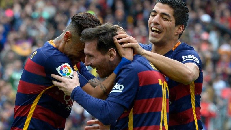 Barcelona ja Real võidukad, Atletico kaotas tabeli viimasele ja minetas tiitlivõimaluse