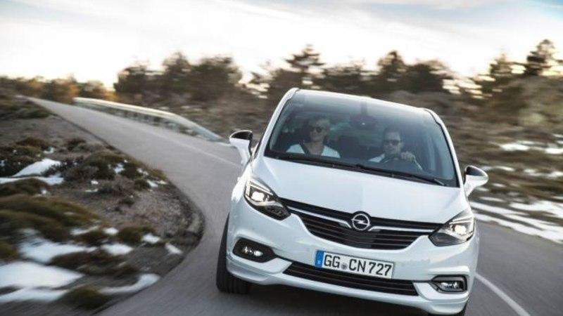 Ühendatud salong: uus Opel Zafira