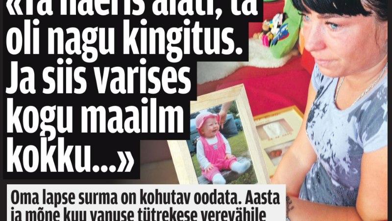 VÄHKI SURNUD LAPSE EMA: teadmine, et hoolivad ka need, kes pole pidanud last matma, on tohutu tugi