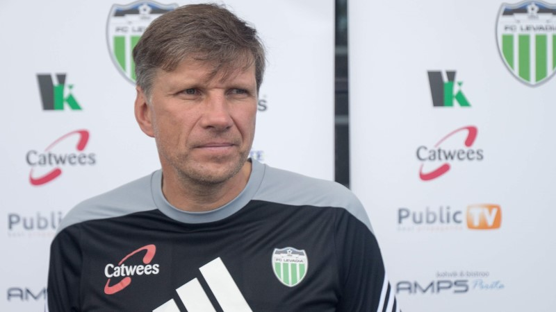 ÕHTULEHE VIDEO | Levadia tuttuus vana peatreener Igor Prins: ma pole ära unustanud, mida treener tegema peab
