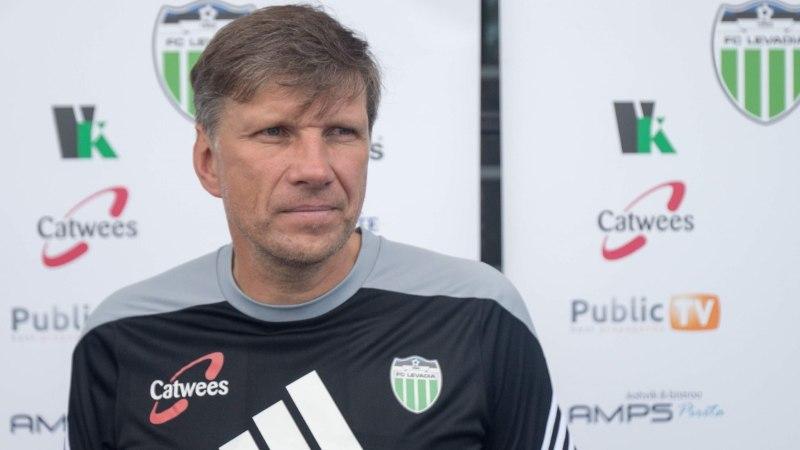 Levadia treener Igor Prins: kihvt on tagasi olla, see võit rõõmustab kõiki!