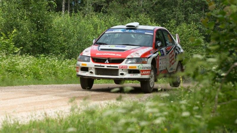 GALERII   Rally Estoniat juhib lendav venelane, eestlased näitavad head kiirust