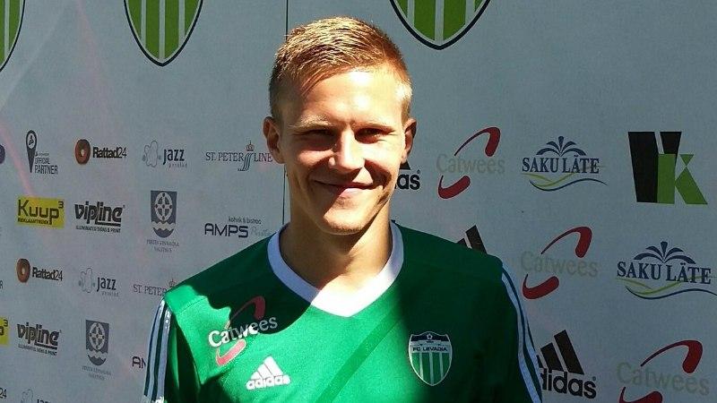 FC Levadia täiendas ridu ründajaga, keda aga Slavia vastu mängitada ei saa