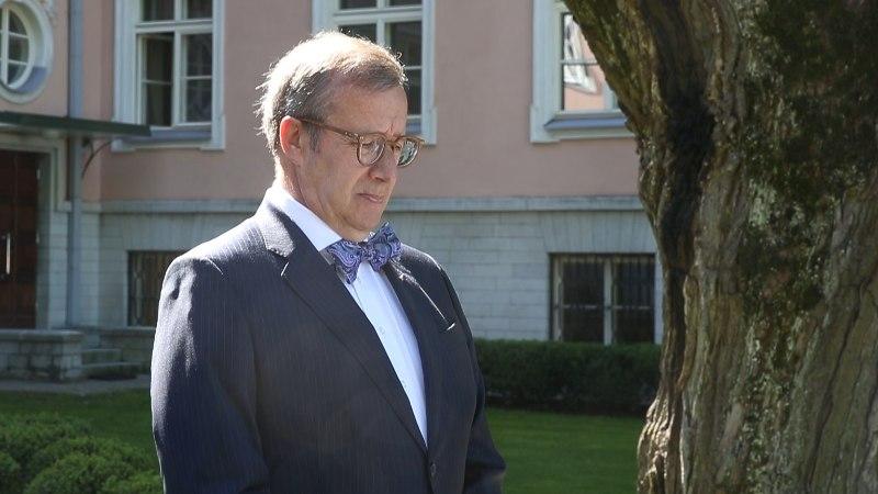 ÕHTULEHE VIDEO | President Ilves langetas koos olümpiakoondislastega pea Nice'is hukkunud eestlaste mälestuseks