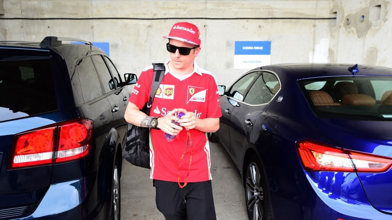 Räikkönen: Vormel 1 reeglid on naeruväärsed!