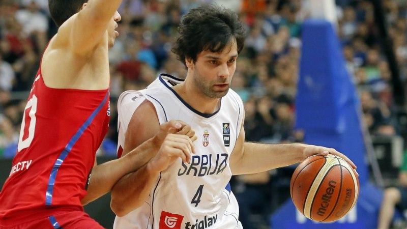 Serbia korvpallurite must päev: kas Teodosic ja Nedovic peavad Rio olümpialt eemale jääma?