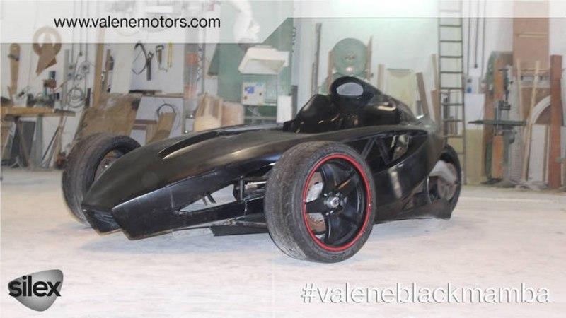 Black Mamba elektrisõiduk peaks arendama rohkem kui 800 hobujõudu