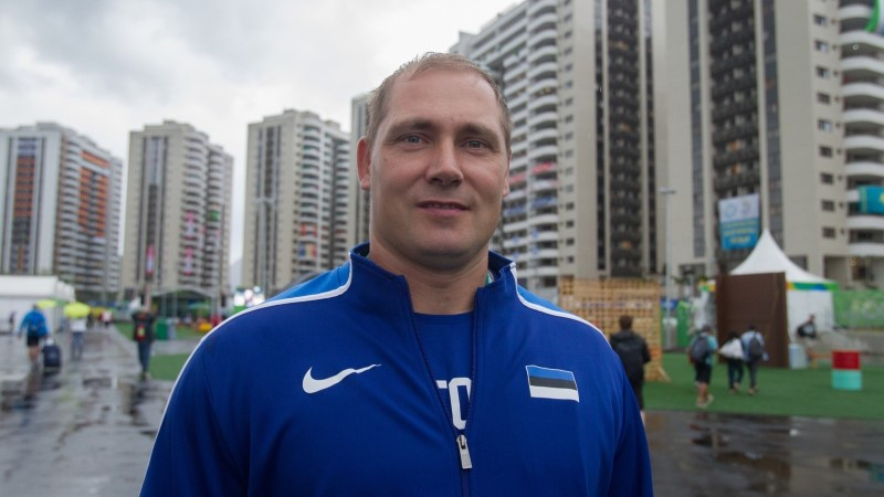 PÖIDLAD PIHKU! Keharammult on Gerd Kanter kolmanda olümpiamedali võitmiseks valmis