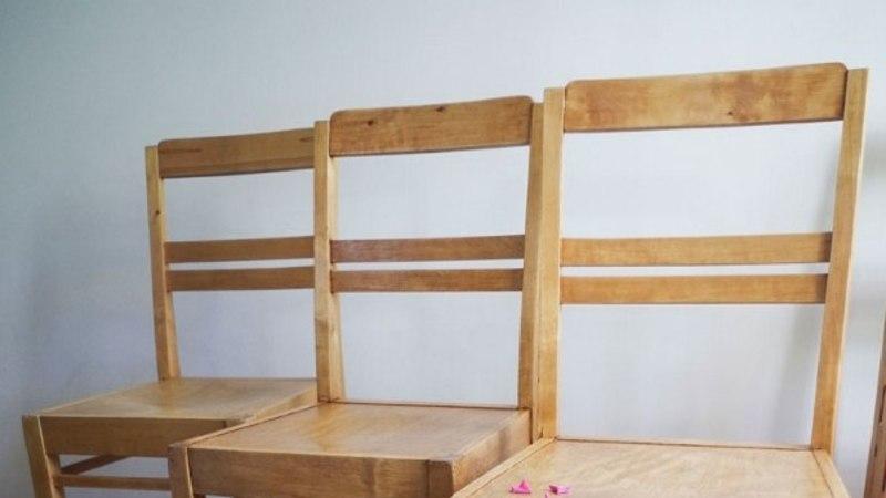 BLOGI! Muudame erineva viimistlusega toolid ühesuguseks!