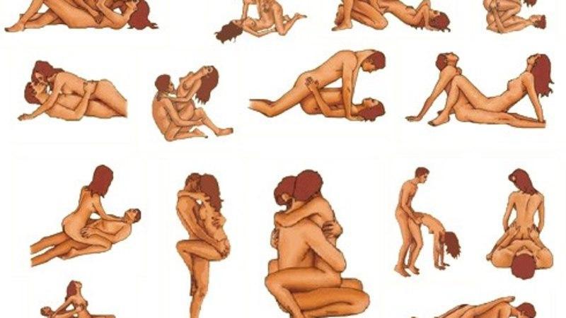 Любимые позы в секса