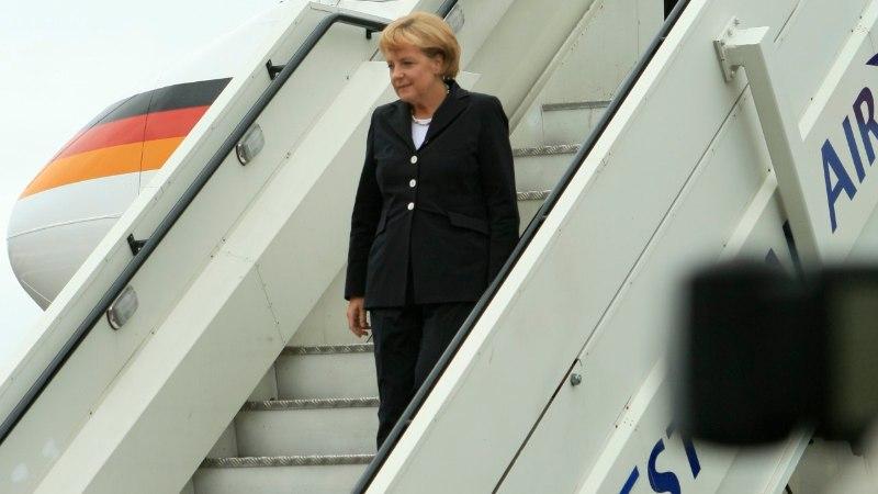 Angela Merkeli käik Tallinnasse saab olema lühike ja konkreetne