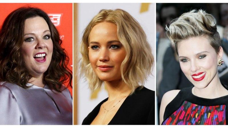 Priske Melissa McCarthy kukutas sekspomm Scarlett Johanssoni
