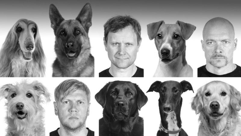 Karlova teatris on publiku hulgas ka viis koera