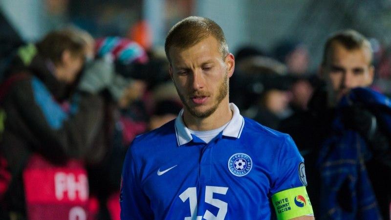 a4ec4edc00f Ragnar Klavani osalemine esimeses MM-valikmängus üha kahtlasem. Eesti  jalgpallikoondise kapten ...