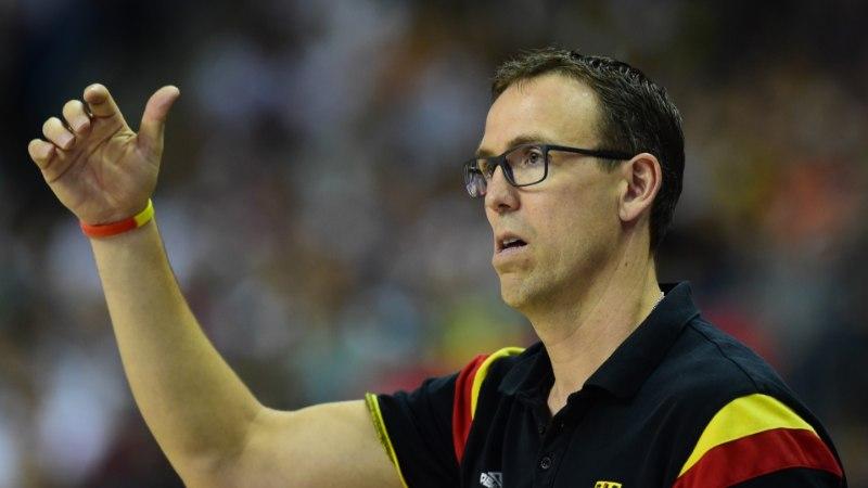 Saksamaa korvpallikoondise peatreener Chris Fleming: meil oli sellist mängu vaja