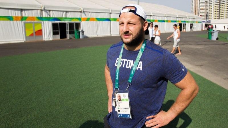 ÕL RIOS   Olümpiamängude debütant Grigori Minaškin peab kiiresti alla võtma: enne kaalumist tuleb kaks rasket päeva!