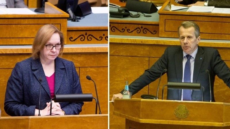 Rõivase ettepanek: välisministriks Jürgen Ligi ja haridusministriks Maris Lauri