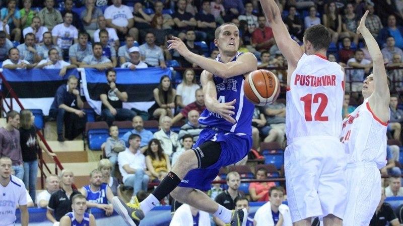Kolm mängu järjest võõrsil: korvpallikoondis saab oma triibulised kätte