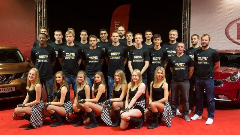 ÕHTULEHE VIDEO ja GALERII   Avalikkusele tutvustati Tartu Ülikooli korvpallimeeskonda, Kullamäe: noori ja vihaseid on meil palju