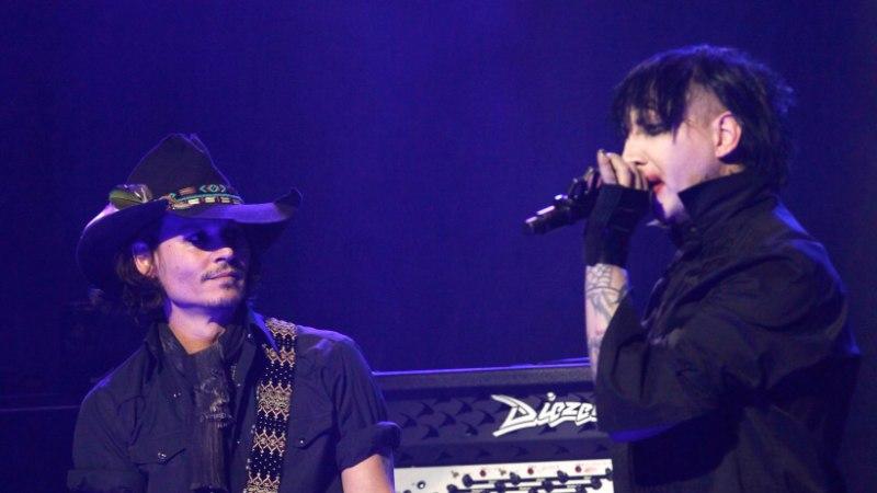Marilyn Manson võrdleb Johnny Deppi Jeesusega