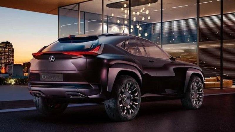 Lexus näitas UX ideemaasturit