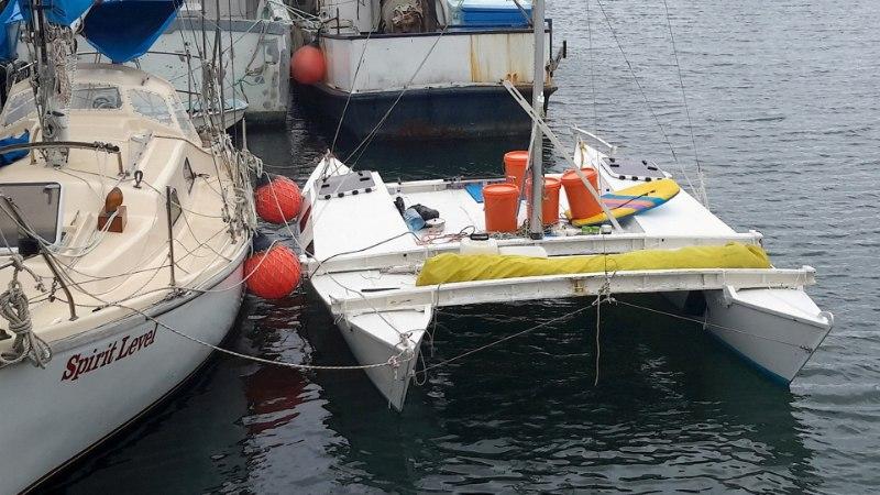 Mees ja tema 6aastane tütar olid enam kui kuu aega merel kadunud
