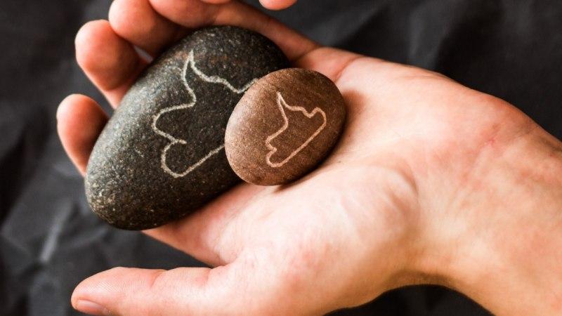 USKUMATU ÄRI: Nutikas naljahammas müüb veidra sõnumiga kivikesi
