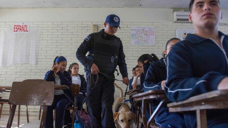 KARMID KAADRID: Mehhiko koolitulistamisest lekkis internetti turvakaamera video